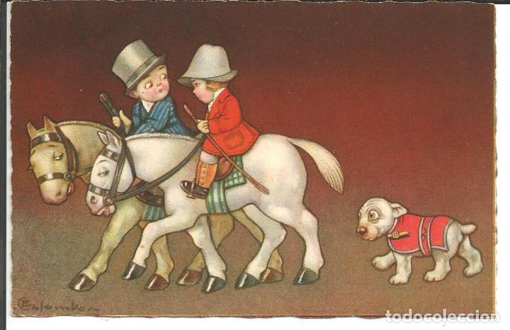 POSTAL *COLOMBO* - EDIC. A. GUARNERI, SERIE 2251 - AÑO 1931 (Postales - Dibujos y Caricaturas)