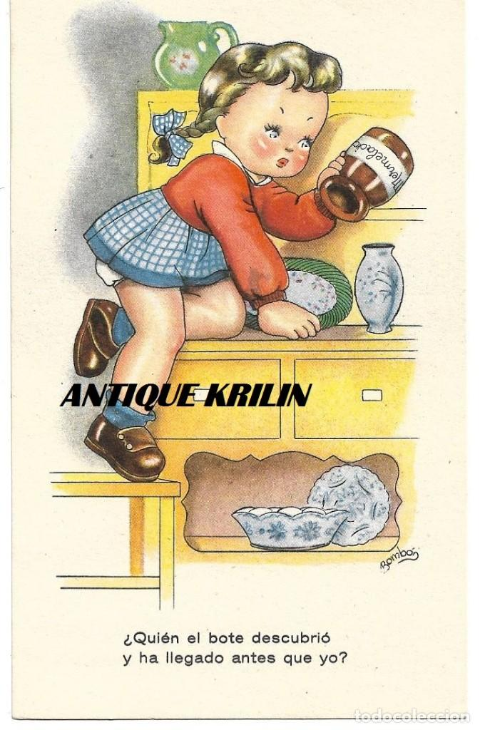 POSTAL EDICIONES ARTIGAS / FENIX SERIE 3064 .- ILUSTRA BOMBON (Postales - Dibujos y Caricaturas)