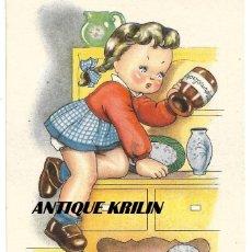 Postales: POSTAL EDICIONES ARTIGAS / FENIX SERIE 3064 .- ILUSTRA BOMBON. Lote 168515312