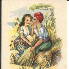 Postales: POSTAL *GIRONA* - ADAGIS POPULARS, ED. ARTIGAS, IKON SERIE 145. Lote 168518612