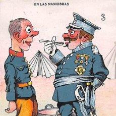 Postales: EN LAS MANIOBRAS. Lote 168690016