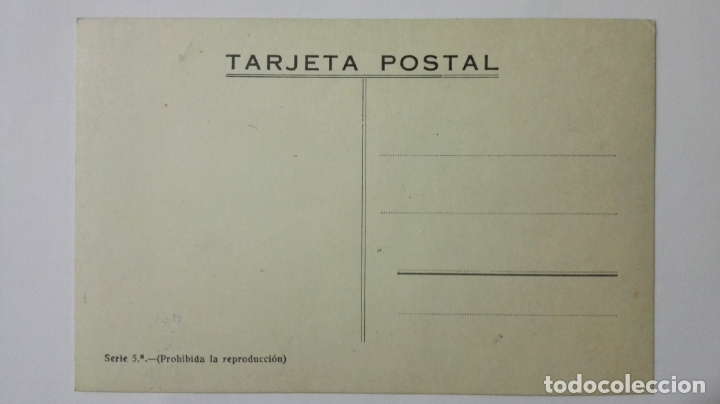 Postales: POSTAL ILUSTRADA DIBUJO AMELIA RE, TETUAN, SERIE 5ª, AÑOS 50, SIN CIRCULAR - Foto 2 - 169185616