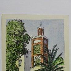 Postales: POSTAL ILUSTRADA DIBUJO AMELIA RE, TETUAN, SERIE TERCERA, AÑOS 50, SIN CIRCULAR. Lote 169185692