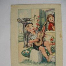 Postales: REFRANERO POPULAR POSTALES FENIX - ARTIGAS BARCELONA ( ESCRITA FECHADA 1951 ). Lote 169578912