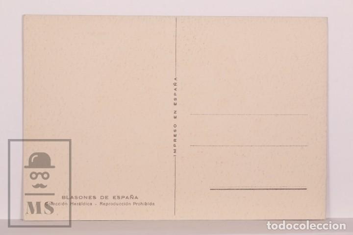 Postales: Postal Blasones de España - Sitges. Colección Heráldica - Sin Circular - Foto 2 - 169896944