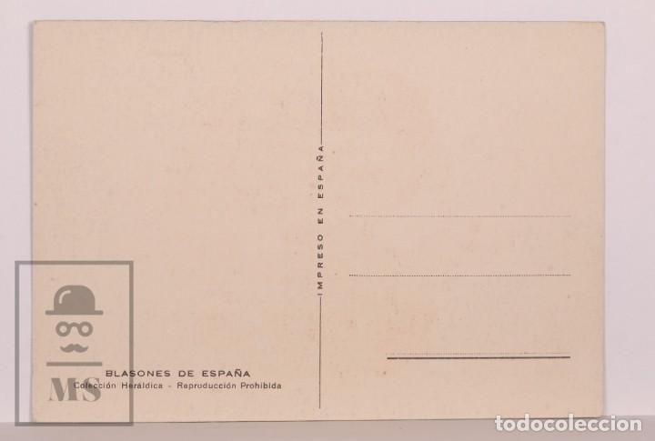 Postales: Postal Blasones de España - Figueras / Figueres. Colección Heráldica - Sin Circular - Foto 2 - 169897084