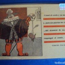 Postales: (PS-61367)POSTAL TENORIO-PRAT DE LA RIBA. Lote 171163068