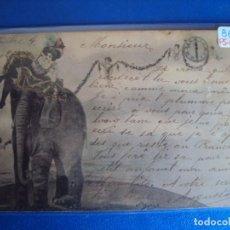 Postales: (PS-61341)POSTAL ILUSTRADA TEMA CIRCO. Lote 171166507