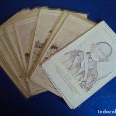 Postales: (PS-61402)LOTE DE 15 POSTALES ILUSTRADAS POR BRUNET. Lote 171242800