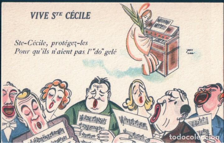 POSTAL DIBUJO VIVE STE CECILE - NOYER - FETES COMIQUES 219 - DIBUJO HUMOR (Postales - Dibujos y Caricaturas)