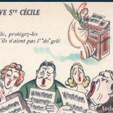 Postales: POSTAL DIBUJO VIVE STE CECILE - NOYER - FETES COMIQUES 219 - DIBUJO HUMOR. Lote 171434128