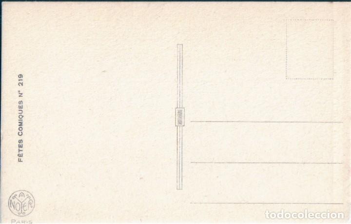Postales: POSTAL DIBUJO VIVE STE CECILE - NOYER - FETES COMIQUES 219 - DIBUJO HUMOR - Foto 2 - 171434128