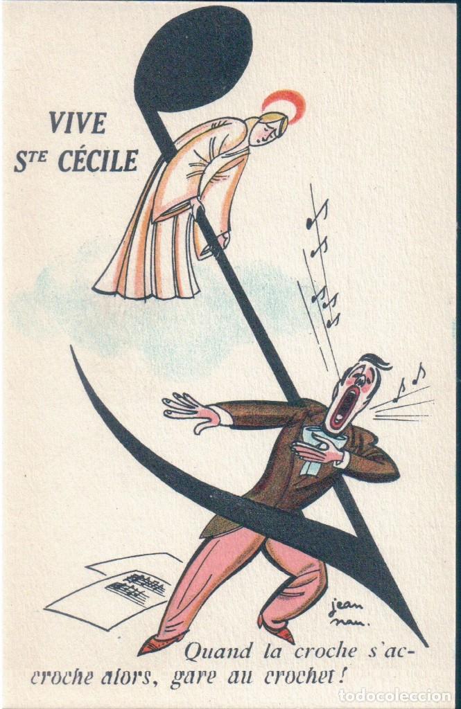 POSTAL DIBUJO VIVE STE CECILE - NOYER - FETES COMIQUES 222 - DIBUJO HUMOR (Postales - Dibujos y Caricaturas)