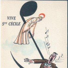 Postales: POSTAL DIBUJO VIVE STE CECILE - NOYER - FETES COMIQUES 222 - DIBUJO HUMOR. Lote 171434335