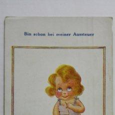 Postales: POSTAL, BIN SCHON BEI MEINER AUSSTEUER, AÑO 1926. Lote 171534110