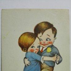 Postales: POSTAL, AL COMPAS DEL TANGO, CUPIDOS, Nº 6, AÑOS 40. Lote 171534484