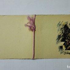 Postales: TARJETA FELICITACION DE NAVIDAD, SANTA QUITERIA - AÑO 1949. Lote 171602069