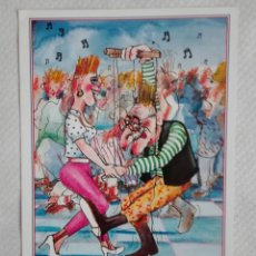Postales: ESCUDO DE ORO 1987 DIBUJOS ANIMADOS. Lote 171663804