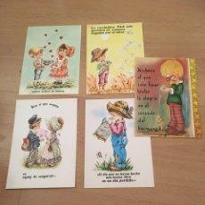 Postales: POSTALES INFANTILES PAREJAS. Lote 172320305