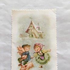 Postales: FELICITACIÓN NAVIDAD. ILUSTRACIÓN?. H. 1976?. Lote 173650929