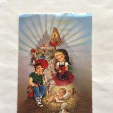 Postales: FELICITACIÓN NAVIDAD. ILUSTRACIÓN I. VERNET. H. 1975?.. Lote 173651015