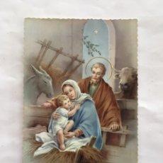 Postales: FELICITACIÓN NAVIDAD. POSTAL. ILUSTRACIÓN?. IMPRIME EN ITALIE. H. 1958?.. Lote 173653024