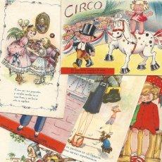 Postales: LOTE 31 POSTALES DIBUJOS Y CARICATURAS - MARÍA CLARET, FREIXAS, GIRONA, TRÍO Y OTROS. Lote 175123822