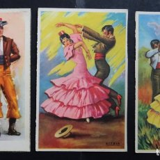 Postales: 3 ANTIGUAS POSTALES EDITADAS POR ESTAMPERIA RAM Y LAIETANA DE BARCELONA . Lote 175454312