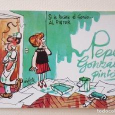 Postales: MINGOTE POSTAL ILUSTRACION. Lote 176105312