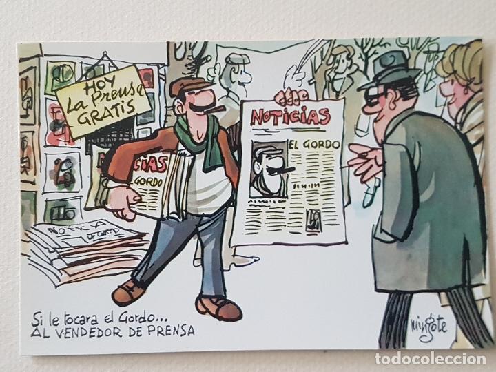MINGOTE POSTAL ILUSTRACION (Postales - Dibujos y Caricaturas)