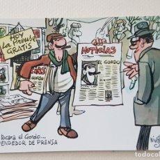 Postales: MINGOTE POSTAL ILUSTRACION. Lote 176105372