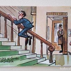 Postales: MINGOTE POSTAL ILUSTRACION. Lote 176105612
