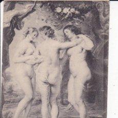 Postales: RUBENS LAS TRES GRACIAS 1670 MUSEO DEL PRADO MADRID (SIN CIRCULAR) . Lote 176402150