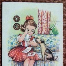 Postales: MELODIAS EN BOGA - ILUSTRACION GIRONA - ED: ARTIGAS - SERIE 60. Lote 176426650