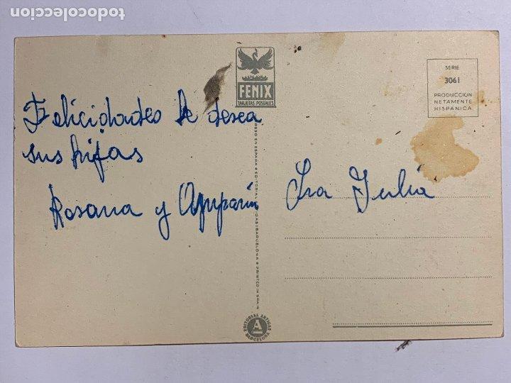 Postales: POSTAL ILUSTRADA EDITORIAL ARTIGAS SERIE 3061. ESCRITA. - Foto 2 - 177046014