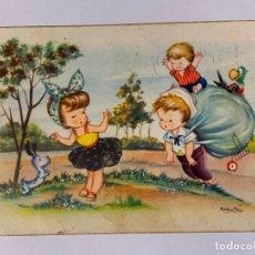 Postales: POSTAL ILUSTRADA POR SABATER SERIE 214/3. ESCRITA.. Lote 177046049