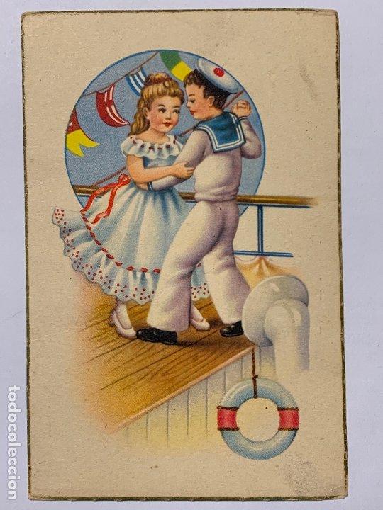 POSTAL ILUSTRADA EDITORIAL ARTIGAS SERIE 1078. ESCRITA. (Postales - Dibujos y Caricaturas)