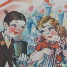 Postales: LOTE DE TRES POSTALES ILUSTRADAS DE HUMOR AÑOS 1950,S. Lote 177785663