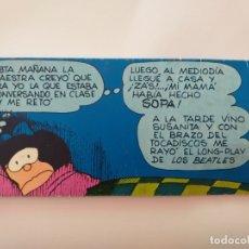 Postales: POSTAL DIBUJO MAFALDA. DIBUJANTE QUINO.. Lote 177800730