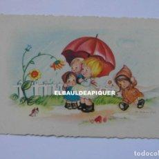 Postales: POSTAL DIBUJO DE NIÑOS. PALETTI 2067/6. 1962. ILUST. M. GRANADOS.ESCRITA AL REVERSO. Lote 177979613
