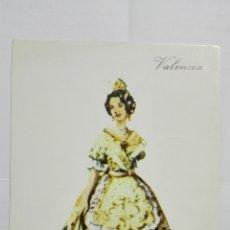 Postales: POSTAL TRAJES REGIONALES VALENCIA, PUBLICIDAD FARMACIA PRONITOL. Lote 178126702