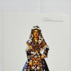 Postales: POSTAL TRAJES REGIONALES SALAMANCA, PUBLICIDAD FARMACIA PRONITOL. Lote 178127160