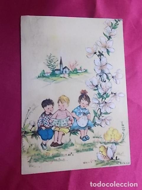 Postales: LOTE 5 POSTALES EDICIONES AR. SERIE 330/ 1, 2, 3, 4, 6. ILUSTRADOR G. BOSISIO - Foto 5 - 178309052