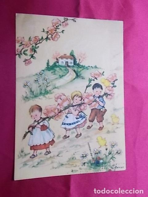 Postales: LOTE 5 POSTALES EDICIONES AR. SERIE 330/ 1, 2, 3, 4, 6. ILUSTRADOR G. BOSISIO - Foto 6 - 178309052