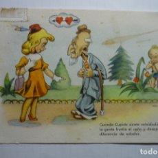 Postales: POSTAL CIRCULADA - DIBUJO CELMA CUPIDO. Lote 178626507