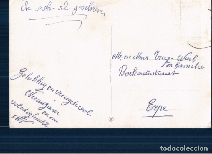 Postales: POSTAL CARICATURA DIBUJO NIÑO JUAGANDO TREN - COCINA - Foto 2 - 179073011