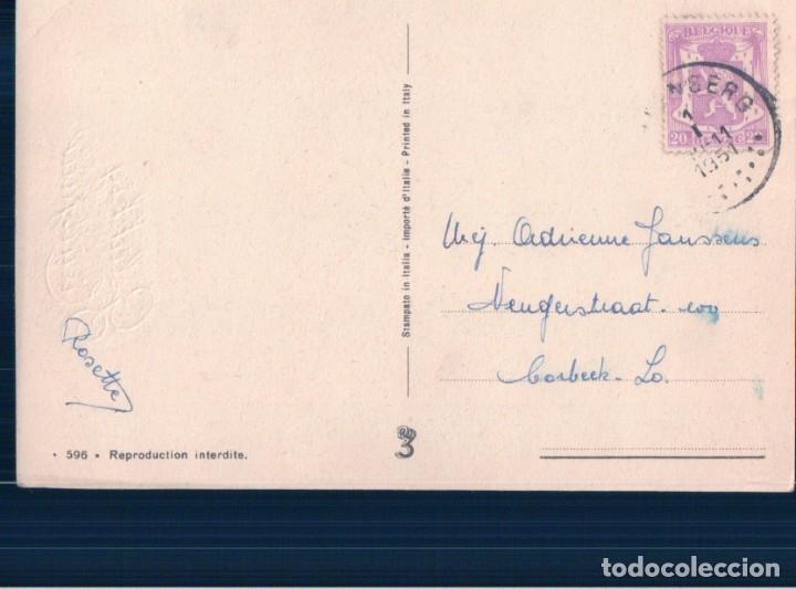 Postales: POSTAL CARICATURA PAREJA DISFRAZADOS- CIRCULADA 596 - Foto 3 - 179073577