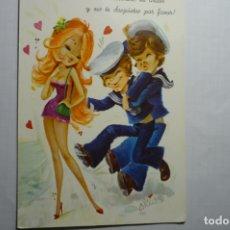 Postales: POSTAL MARINEROS.-DIBUJO ARIAS C Y Z 7106. Lote 179076923