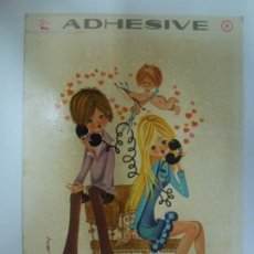 Postales: POSTAL ADHESIVA. 317-B. PRINTING STUDIO AG.NO ESCRITA.. Lote 179138770