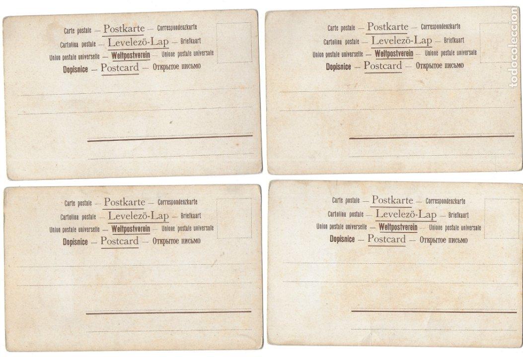 Postales: CR-269. 14 POSTALES ALEMANAS ILUSTRADAS E.S.D. - Foto 6 - 179141597